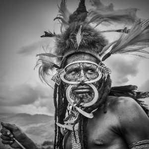 PhotoVivo Gold Medal - Zhengwang Guan (China)  Tribal Man