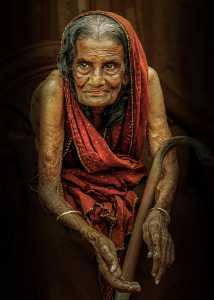 APU Winter Merit Award E-Certificate - Guisen Li (China)  Old Bangladeshi Woman 034