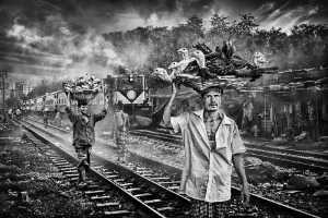 PSA Gold Medal - Yuk Fung Garius Hung (Hong Kong)  Life At The Train Station