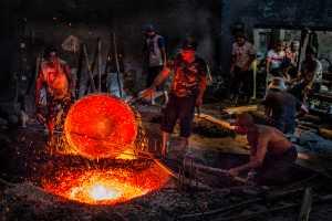 PhotoVivo Gold Medal - Kit Han Chong (Malaysia)  Making Of Gong