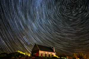 PhotoVivo Gold Medal - Ming Lu (China)  Star Trails