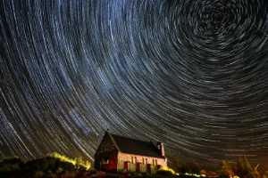 PhotoVivo Gold Medal - Ming Lu (China)  Star Trails