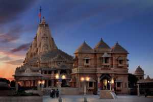 Circuit Merit Award e-certificate - Shirish Jhaveri (India)  Somnath Temple In Evening