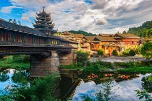 PhotoVivo Gold Medal - Yuxu Chen (China)  Wind And Rain Bridge In Dong Village