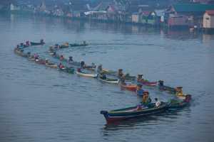 APU Honor Mention E-Certificate - I Wayan Gunayasa (Indonesia)  Floating Boats On The River