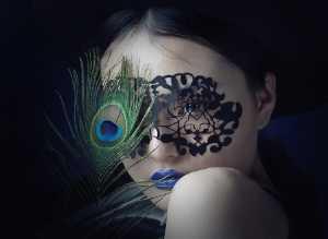 FIP Ribbon - Qiang Liu (China)  Peacock Girl