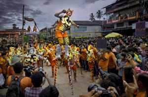 APU Honor Mention e-certificate - Suresh Bangera (India)  Tiger Dance