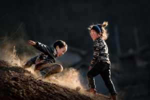 PhotoVivo Gold Medal - Junfeng Wu (China)  Happy Childhood