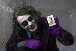 APU Honor Mention e-certificate - Lee Sutton (England)  The Joker