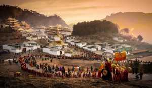 PSM Gold Medal - Changjian Xie (China)  Sun Buddha Festival