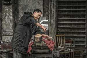 APU Honor Mention E-Certificate - Anping Guo (China)  Shaving
