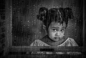 PhotoVivo Honor Mention e-certificate - Pandula Bandara (Sri Lanka)  Looking At The Rain