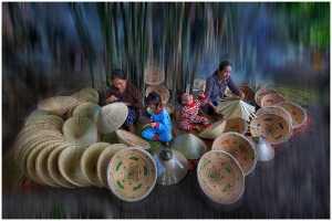 APU Gold Medal - Thomas Lang (USA)  Family Traditional Work