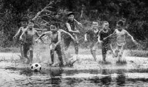 APAS Honor Mention e-certificate - Jincheng Zhou (China)  Water Football Match