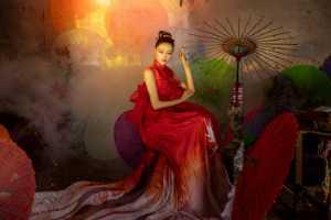 PhotoVivo Honor Mention e-certificate - Shuyu Guo (China)  Oiledpaperumbrellasincerefeelin