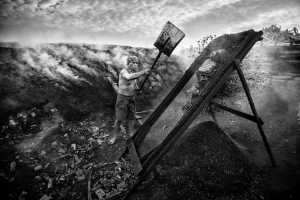PhotoVivo Honor Mention e-certificate - Phillip Cheang (Malaysia)  Charcoal-Man_2