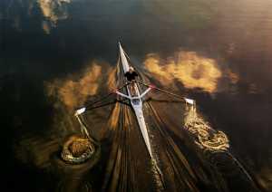 PSA HM Ribbons - Hung Kam Yuen (Australia)  Golden Rower At Dawn