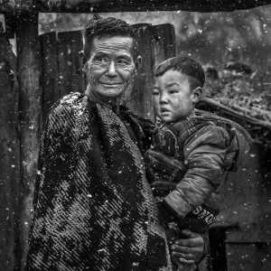 PhotoVivo Gold Medal - Xiaohua Lu (China)  Grandpa And Grandson