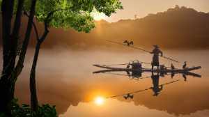 APAS Honor Mention e-certificate - Kim Yiang Chng (Singapore)  Fishing On The Lake 2