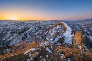PhotoVivo Honor Mention e-certificate - Yuk Fung Garius Hung (Hong Kong)  Sunrise At Great Wall 2