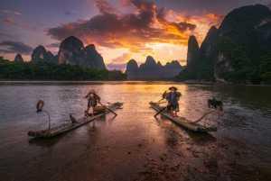 ICPE Honor Mention e-certificate - Min Tan (Malaysia)  Li River Sunset Fishing