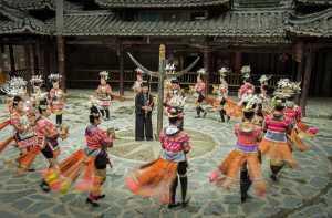 SIPC Merit Award - Liangjin Liu (China)  Miao Lusheng Dance Skirt