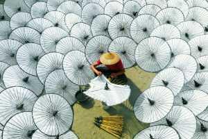 RPST Gold Medal - Hlaing Myint Min (Myanmar)  Making Umbrellas