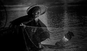 ICPE Honor Mention e-certificate - Chaohong Wang (China)  Li River Fisherman