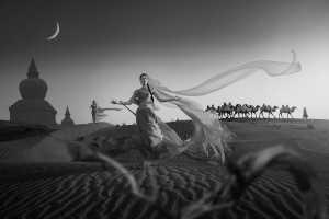 PhotoVivo Gold Medal - Huang Zhijian (China)  The Silk Road Camel