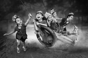 RPST Honor Ribbon - Arnaldo Paulo Che (Hong Kong)  Happy kids