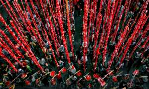 ICPE Gold Medal - Xiaojun Chen (China)  Festival Chinese Red
