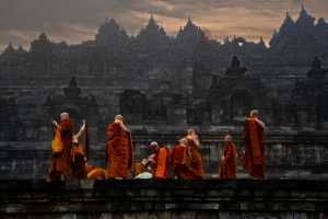 ICPE Gold Medal - Teck Boon Lim (Singapore)  Borobodur Monks Packup