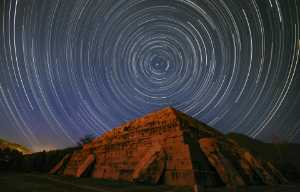 APU Honor Mention E-Certificate - Yue Zhang (China)  Star Trails