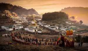 PhotoVivo Gold Medal - Changjian Xie (China)  Sun Buddha Festival
