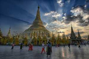 PhotoVivo Gold Medal - Lewis K. Y. Choi (Hong Kong)  Golden Pagoda