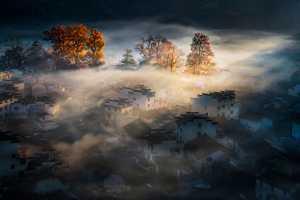 APAS Gold Medal - Yi Huang (China)  Town In Mist 4