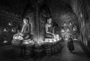 Raffles Merit Award E-Certificate - Htun Min Oo (Myanmar)  Novice Praying Temple