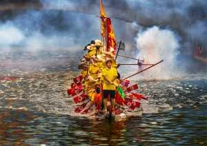 APU Summer Gold Medal - Hung Kam Yuen (Australia)  Dragon Boat Team 2