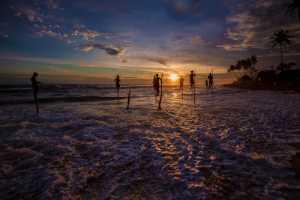 APU Gold Medal - Shehan Trek (Sri Lanka)  Sun Is Setting