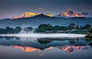PhotoVivo Gold Medal - Ming Liu (China)  Scenery Of Lakes And Mountains