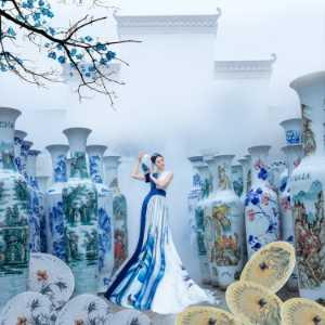 PhotoVivo Gold Medal - Shuyu Guo (China)  The Porcelain Rhyme Beautiful Women