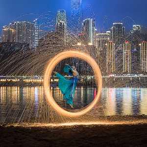 PhotoVivo Honor Mention e-certificate - Jurong Yu (China)  Dance To Iight 1