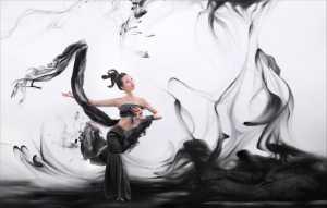 ICPE Gold Medal - Arnaldo Paulo Che (Hong Kong)  Ink Dancing 1
