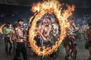 PSA Gold Medal - Jianguo Bai (China)  Yunnan Fire Festa 1