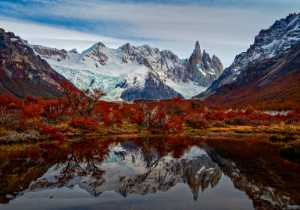APU Honor Mention e-certificate - Katherine Wong (Canada)  Fall Reflection Cerro Torre