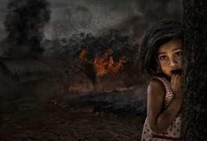 PhotoVivo Honor Mention e-certificate - Pandula Bandara (Sri Lanka)  Back Burning