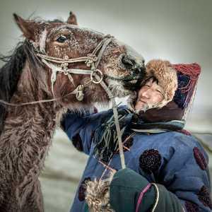 APU Gold Medal - Risheng Liu (China)  Man And Horse