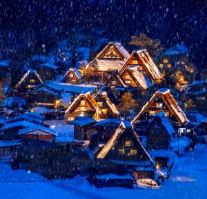 PhotoVivo Gold Medal - Aris Sanjaya (Indonesia)  Snowing In Shirakawago