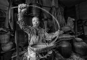 PhotoVivo Gold Medal - Phillip Cheang (Malaysia)  Basket Maker