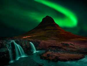Circuit Merit Award e-certificate - Aris Sanjaya (Indonesia)  Beautiful Aurora In  Kirkjufell